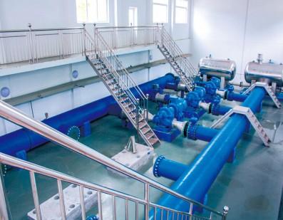 WHG-S型水厂泵站管网无负压稳流增压供水设备